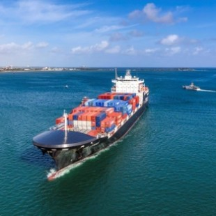Crowley Christens LNG-Powered ConRo Ship in Puerto Rico